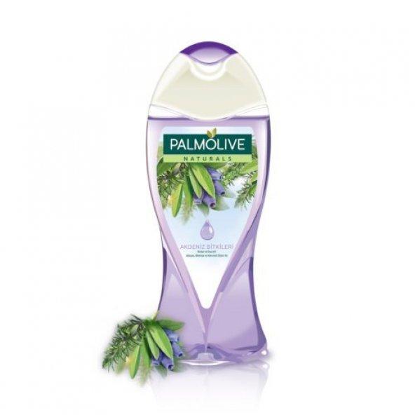 Palmolive Duş Jeli Akdeniz Bitkileri Mor 500 Ml