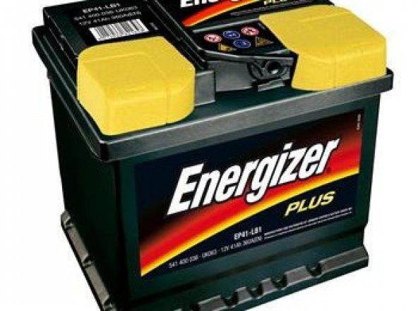 Energizer 12 Volt 45 Dar Amper Alt Bağlantısız,Düz Plus Akü 2018