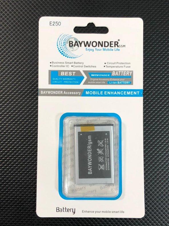 Baywonder Samsung E250 Batarya
