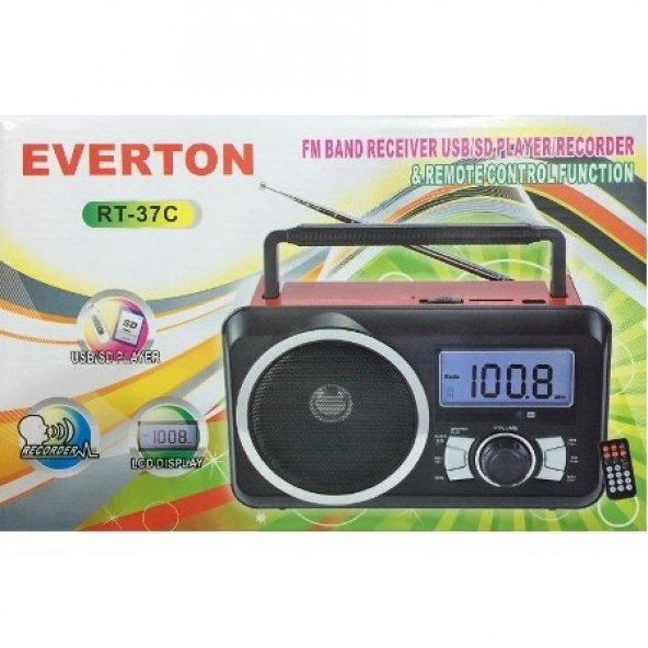 Everton VT-3054 (RT-37) Dijital Müzik Kutusu Fm Radyo, Usb-Sd