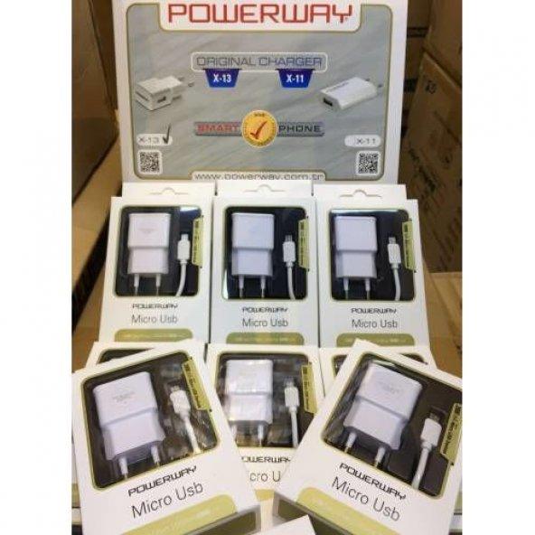 Powerway X13 Samsung S4 Şarj Aleti 5V 2000MA