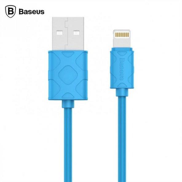 Baseus Yaven Lightning Kablo  Apple 1M Drak Mavi