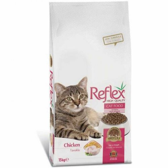 Reflex Tavuklu Kedi Maması 15 KG