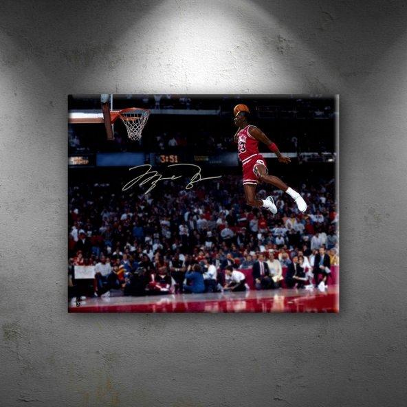Michael Jordan Chicago Bulls-5 Kanvas Tablo
