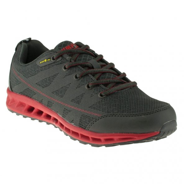 Jump 10259 Bağcıklı Gri Erkek Spor Ayakkabı M