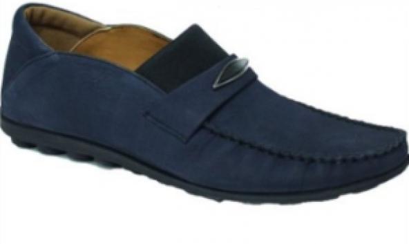 Bemsa 485 Lacivert Nubuk Erkek Günlük Ayakkabı