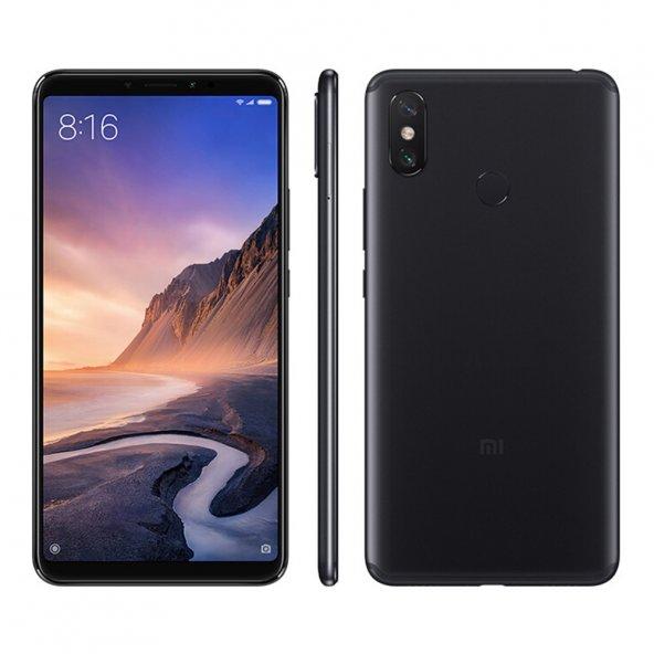Xiaomi Mi Max 3 64 GB Siyah Cep Telefonu *2 YIL DELTA SERVİS GARANTİLİ*