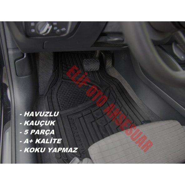 Renault Clio 4 2012 2017  Havuzlu Kauçuk Paspas Takımı