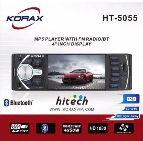 Korax HT- 5055 usb radio aux sd card mp5 çalar oto teyp