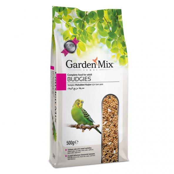Gardenmix Platin Seri Muhabbet Kuş Yemi 500 gr