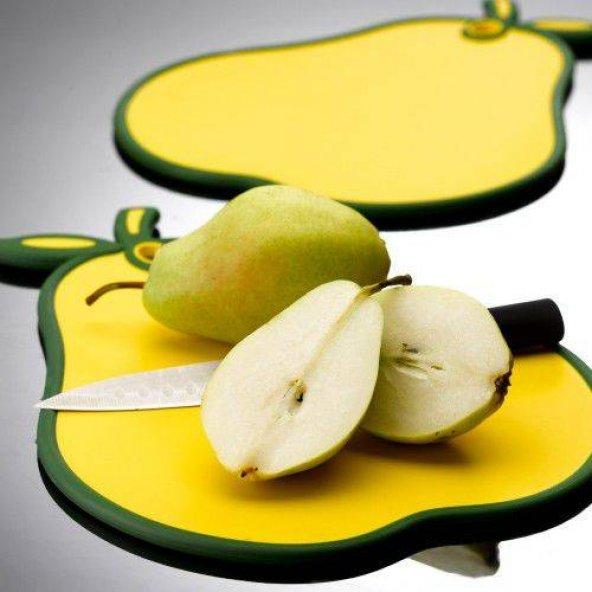 Vitamin Kaydırmaz Kesim Panosu Sarı Armut Detaylı Model G458