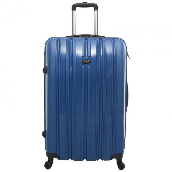 Tutqn Safari PP Kırılmaz ORTA Boy Valiz Bavul Seyahat Cantası 8 Renk