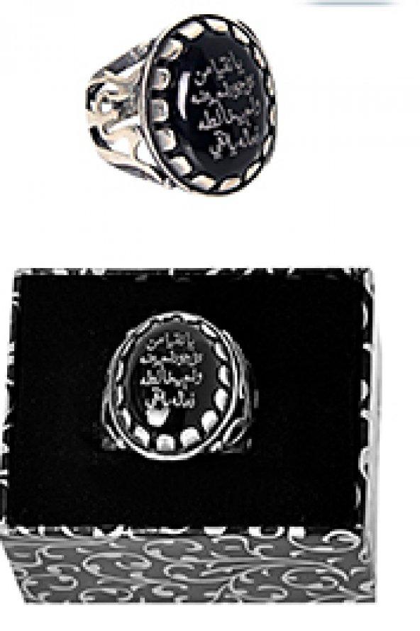 Erbaini İdrisiyye Gümüş Yüzük -6206