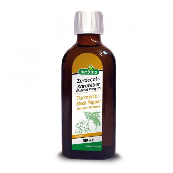 Herbina Zerdeçal (Curcumin) - Karabiber Ekstratı 100 ml