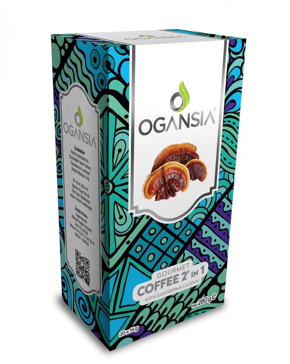 Ogansia Coffee 2 in 1 şekersiz Kahve Ogansia İkisi birarada Kahve