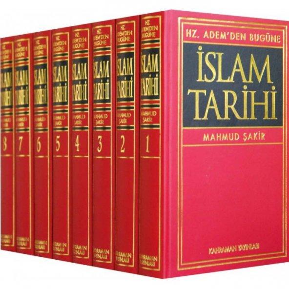 Hz. Ademden Bugüne İslam Tarihi (8 Cilt) Mahmut Şakir