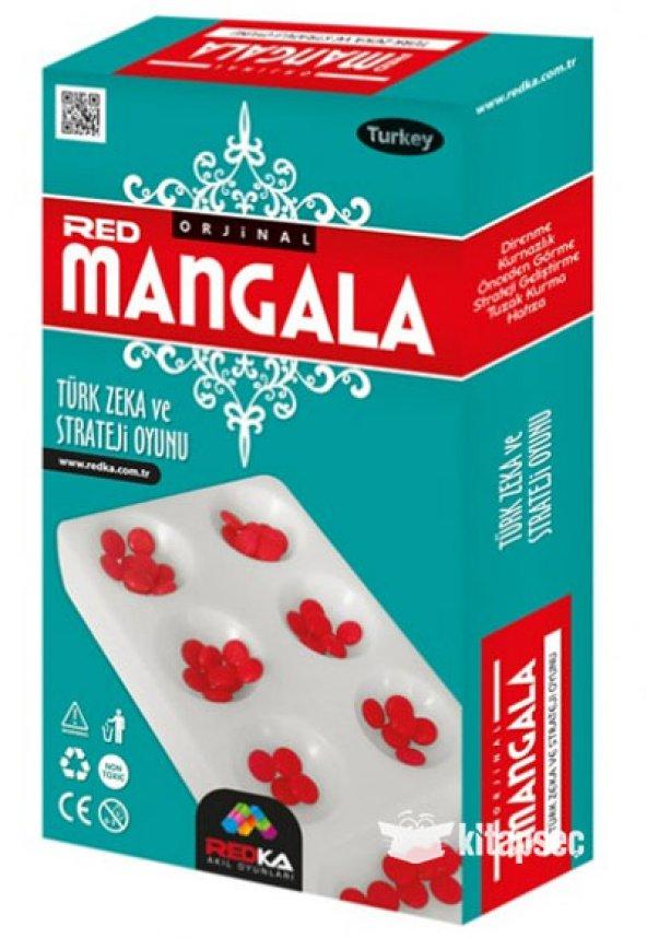 Mangala Zeka Mantık ve Strateji Oyunu Plastik REDKA Akıl Oyunları