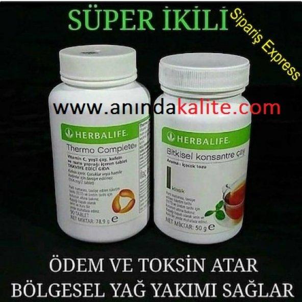 Herbalife İkili Set Thermo Complete + 50 gr Herbalife Çay