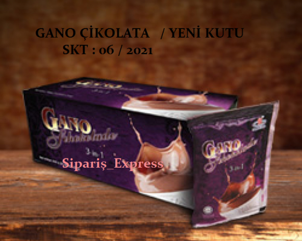 Gano schokolade Gano Sıcak Çikolata YENİ TARİHLİ