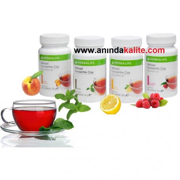 Herbalife Bitkisel Konsantre Çay Çeşitleri 50gr & 100gr Herbalife