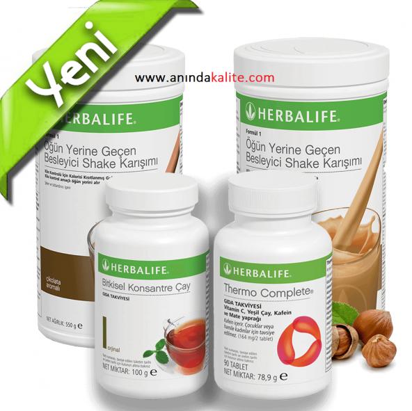 Herbalife Diyet Set -100Gr Seçimli (SHAKER HEDİYE)