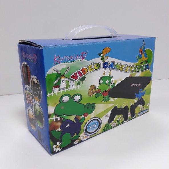 TV Atarisi Kontorland 8 Bit Mario Oyunlu PS4 Modeli Atari KT-103