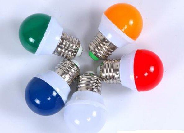 Lambada Led Renkli Gece Ampul 1 W E27 45 Lümen