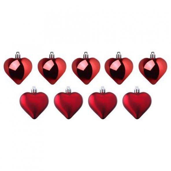 İkea Yılbaşı Ağaç Dekoru Kalp Şeklinde Yılbaşı Ağaç Süsleri
