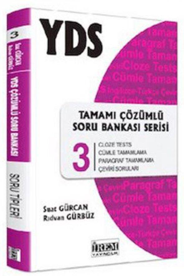 YDS Tamamı Çözümlü Soru Bankası Serisi 3 İrem Yayıncılık