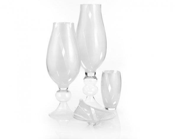Porio Pr84-1002-4 Parça Beyaz İnci Cam Salon Takımı