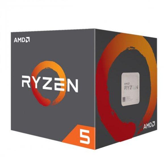 AMD Ryzen 5 2600 3.9GHz AM4 6C/12T 65W 19MB İşlemci