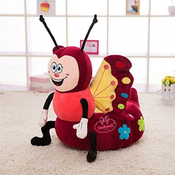 Bebek-Çocuk Koltuğu Kelebek Figürlü Sevimli Koltuk
