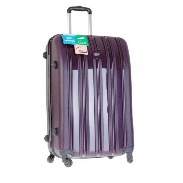 Tutqn Safari Kırılmaz Buyuk Boy Valiz Bavul Seyahat Cantası 8 Renk