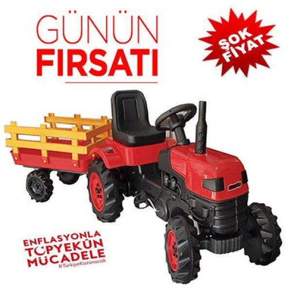 Pedallı Traktör Oyuncak