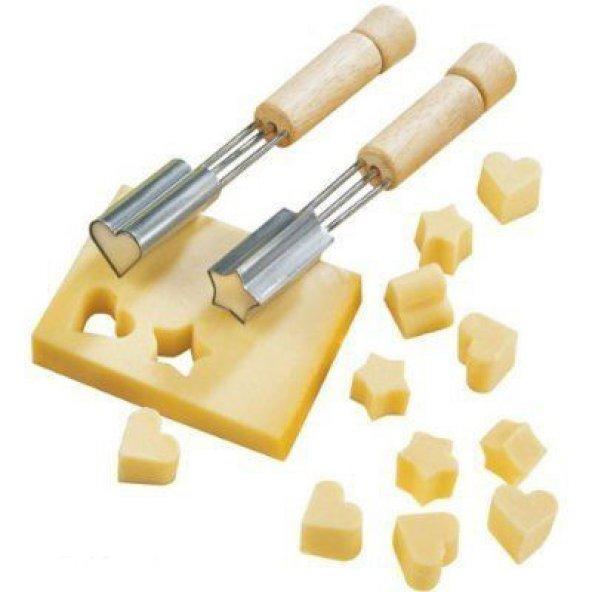 Kalp Şekilli Peynir Kesici