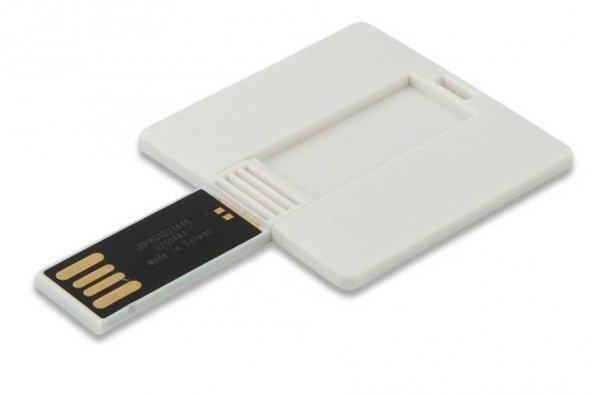BYL196 16GB Kare Plastik Kart Flash Bellek