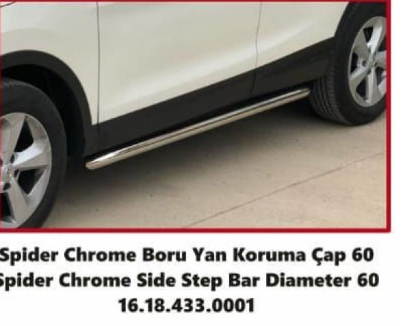 Nissan Qashqai 2014 snr Orjinal Yan Koruma Demiri - Yan Basamak