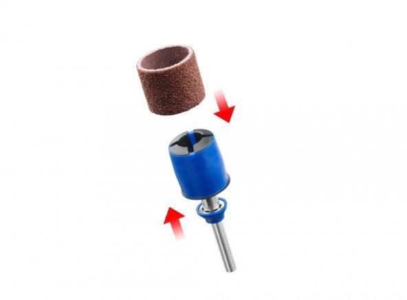 Dremel  EZ SpeedClic: zımparalama mandreni ve zımparalama bandı (SC407) (1 adet)