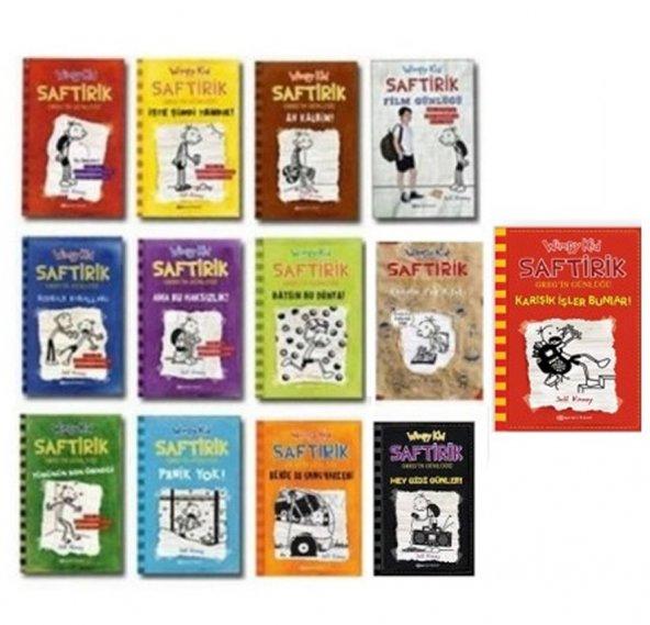 Saftirik Gregin Günlüğü - 13 Kitaplık Set