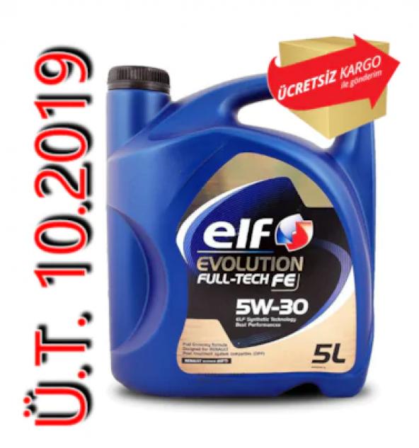 Elf Evolution Full Tech Fe 5W30 5 Litre Motor Yağı