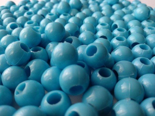100 gr Toptan Plastik Kristal Boncuk Takı Aksesuar Süsleme