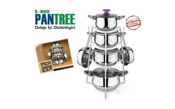 Pantree Pratik Tencere Askısı
