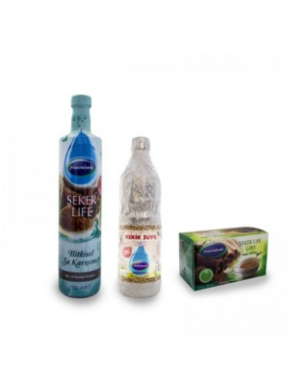 Mecitefendi Şeker Lıfe Bitkisel Su 750 ml
