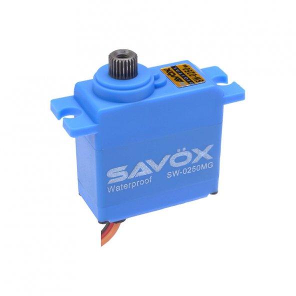 SAVOX - SW-0250MG DC Motor Su Geçirmez Metal Dişli Dijital Servo