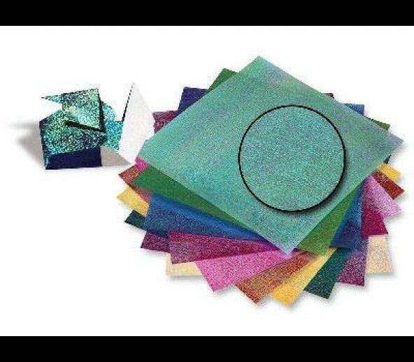 Elişi Kağıdı Yanar Döner 10 renk  Crystal