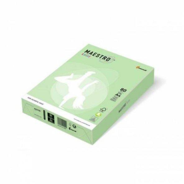 Maestro A4 Renkli Fotokopi Kağıdı Yeşil (Mg28) 80Gr 1 Paket