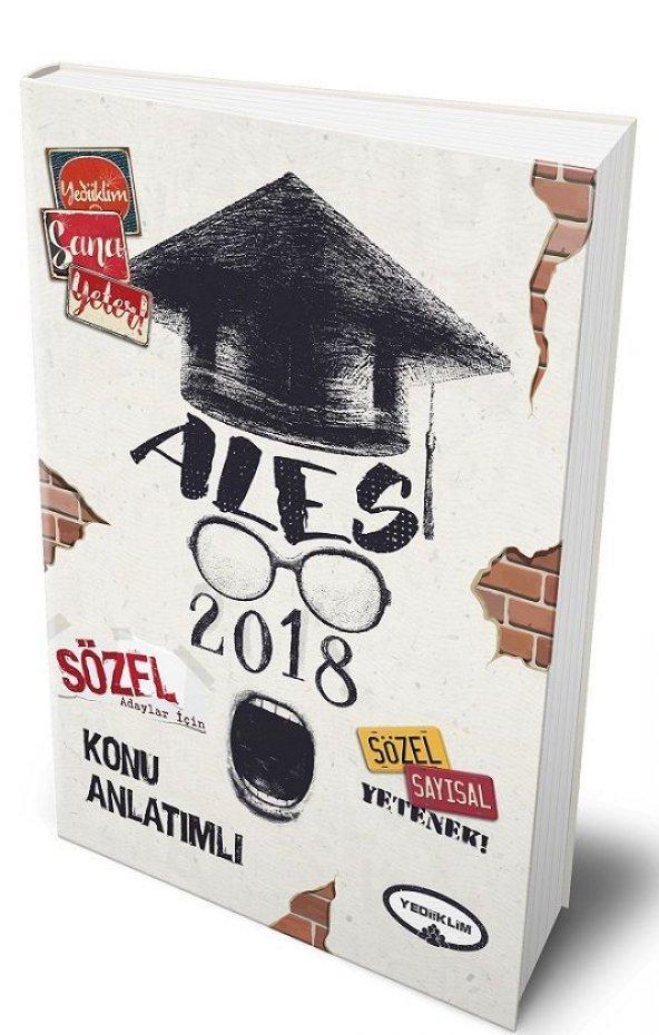 Yediiklim Yayınları  2018 ALES Sözel Adaylar İçin Konu Anlatımlı