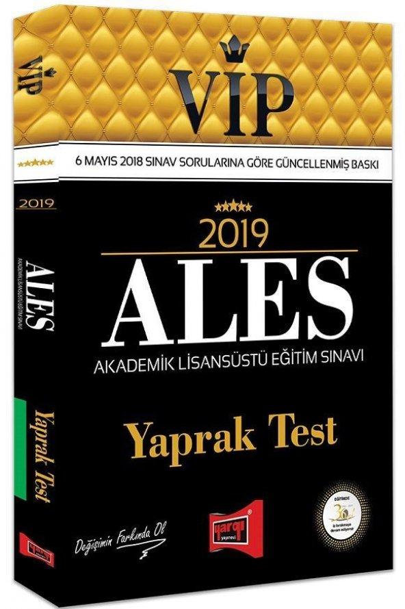 Yargı Yayınları 2019 ALES VİP Yaprak Test