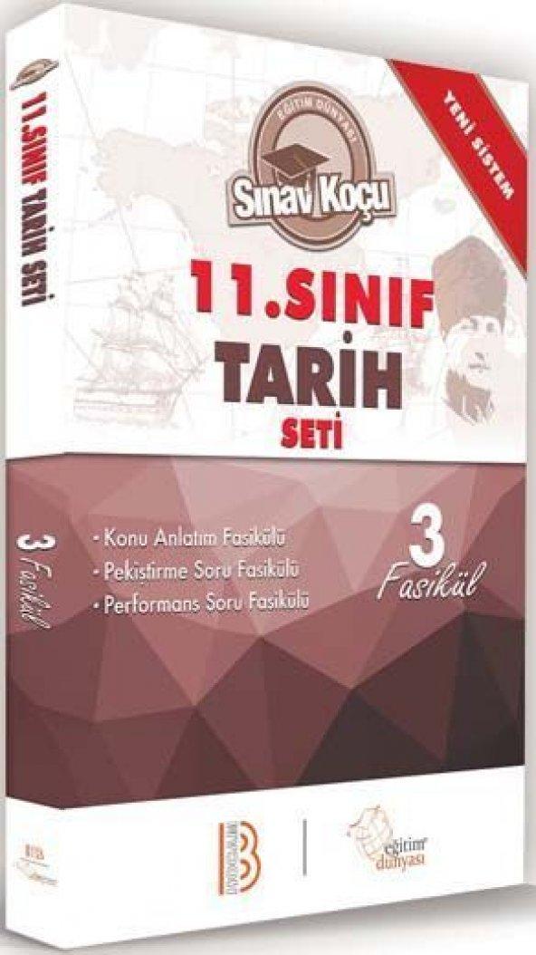 Benim Hocam Yayınları 11. Sınıf Tarih Sınav Koçu Konu Anlatımlı 3 Fasikül Set