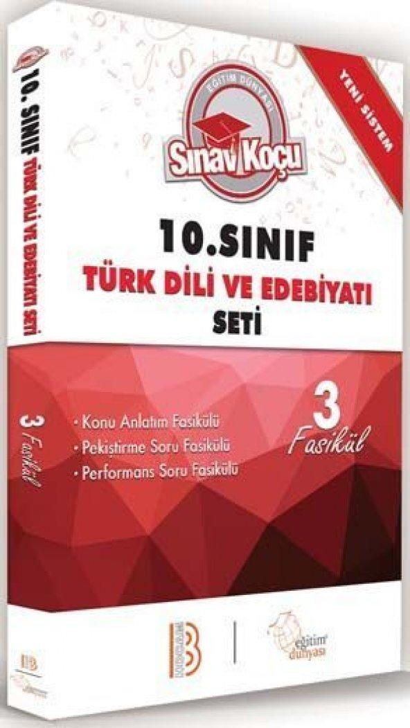 Benim Hocam Yayınları 10. Sınıf Türk Dili ve Edebiyatı Sınav Koçu Konu Anlatımlı 3 Fasikül Set